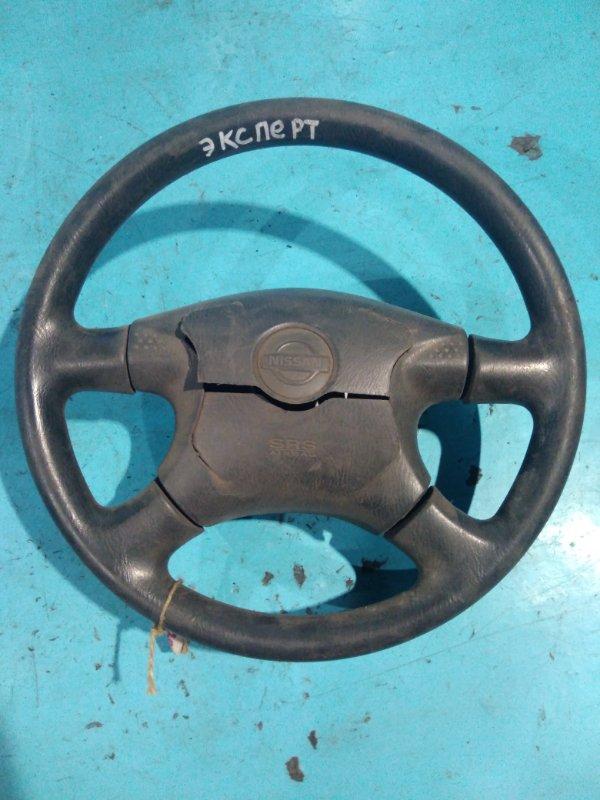 Руль Nissan Expert VNW11 QG18-DE 2001г