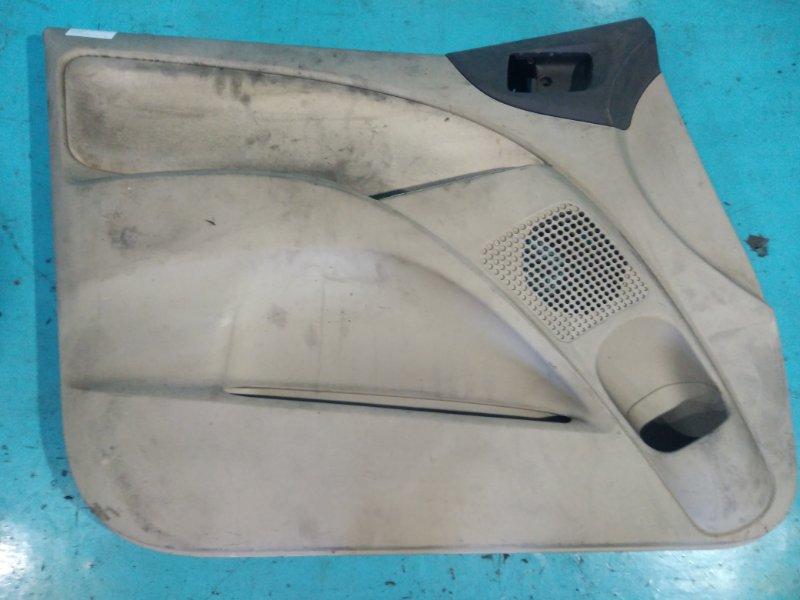Обшивка двери Mitsubishi Colt Z27A 4G15 2003 передняя левая