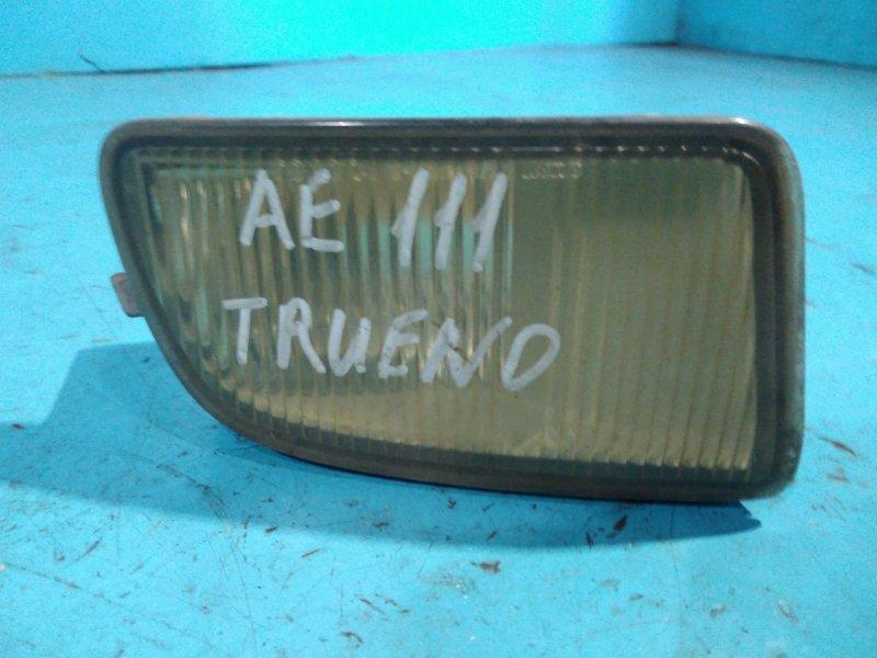 Туманка Toyota Trueno AE111 93 передняя правая