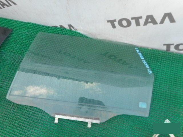 Стекло двери Toyota Caldina ST210 3SFE заднее левое (б/у)
