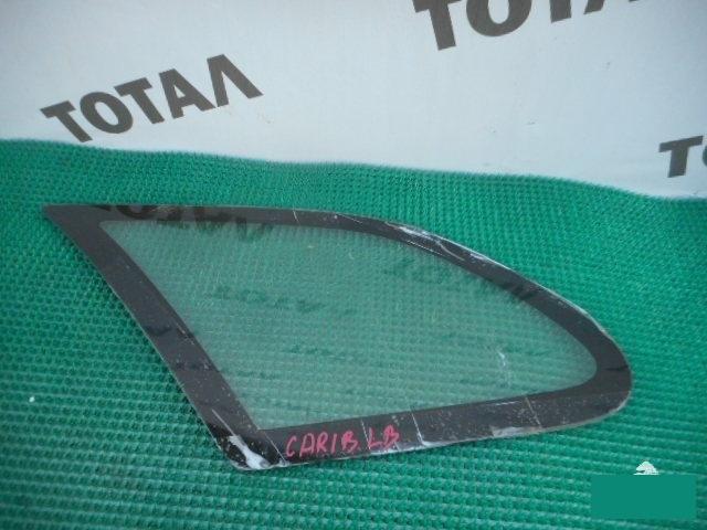 Стекло собачника Toyota Sprinter Carib AE114 4AFE 1997 заднее левое (б/у)