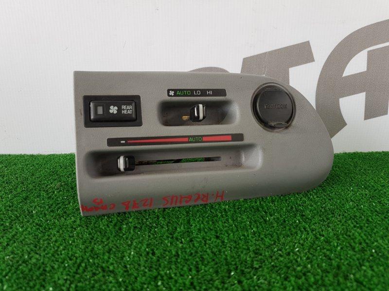 Блок управления климат-контролем Toyota Hiace Regius RCH47 3RZFE 1997 задний (б/у)