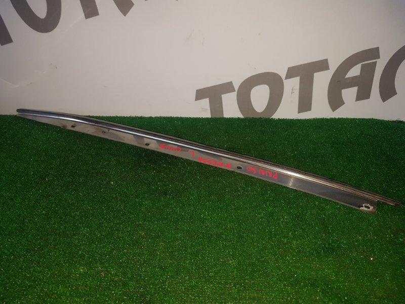 Молдинг лобового стекла Nissan R'nessa PNN30 KA24DE 2000 левый (б/у)