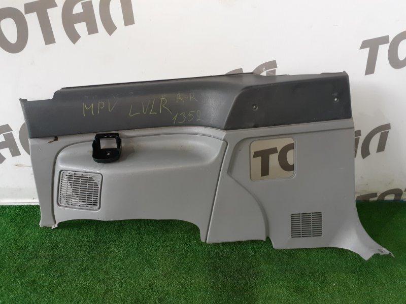 Обшивка багажника Mazda Mpv LVLR WLT задняя правая (б/у)