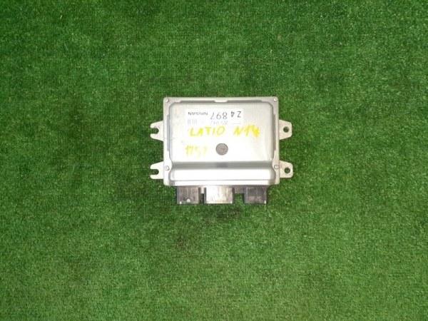 Блок управления двс Nissan Latio N17 HR12DE 2013 (б/у)
