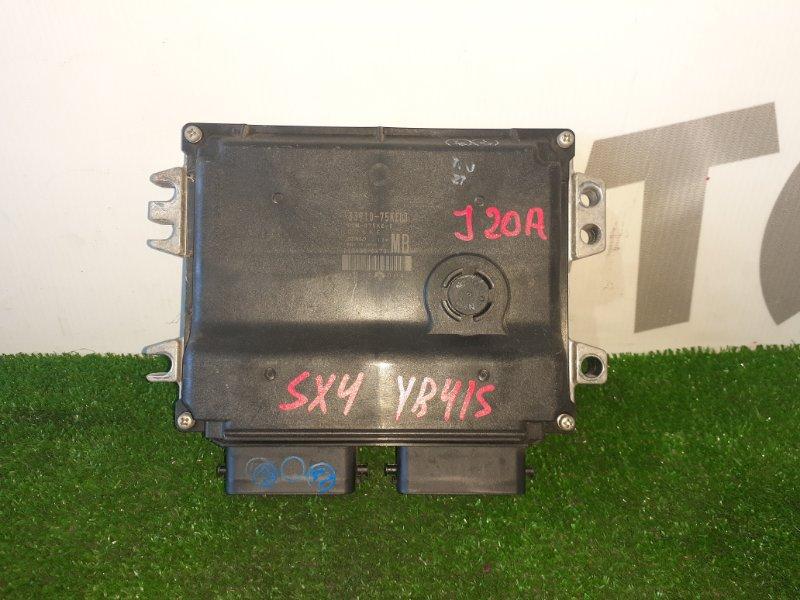 Блок управления двс Suzuki Sx4 YB41S J20A 2007 (б/у)