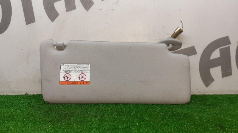 Козырек солнцезащитный Toyota Harrier ACU30 2AZFE 2006 левый (б/у)