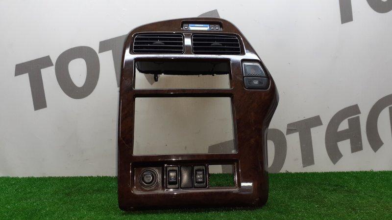 Консоль магнитофона Nissan Terrano Regulus JRR50 QD32TI 1997 (б/у)
