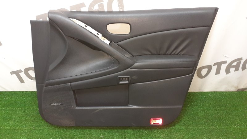 Обшивка двери Nissan Murano PNZ51 VQ35DE 2009 передняя правая (б/у)
