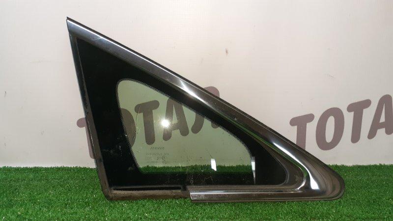 Форточка кузова Toyota Sai AZK10 2AZFXE 2010 передняя правая (б/у)