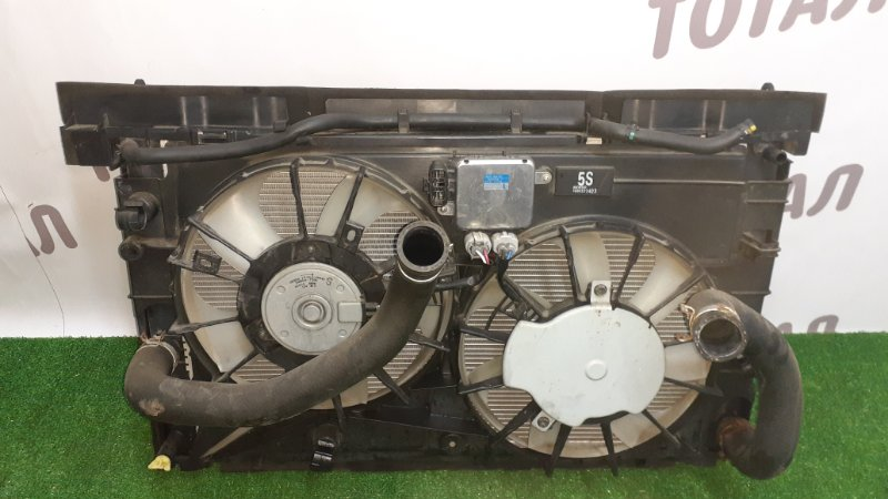 Радиатор двс Toyota Sai AZK10 2AZFXE 2010 (б/у)