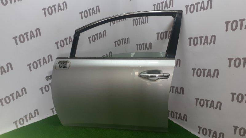 Дверь Toyota Sai AZK10 2AZFXE 2010 передняя левая (б/у)