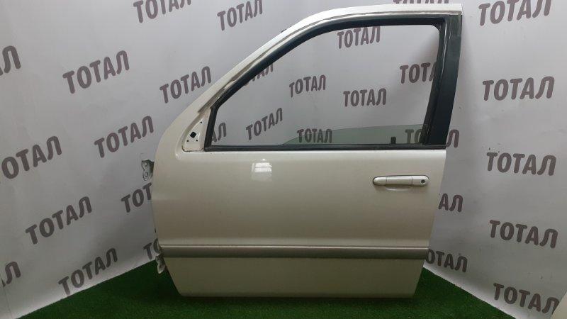 Дверь Toyota Raum EXZ10 5EFE 2001 передняя левая (б/у)