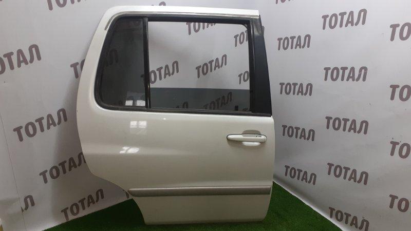 Дверь Toyota Raum EXZ10 5EFE 2001 задняя правая (б/у)
