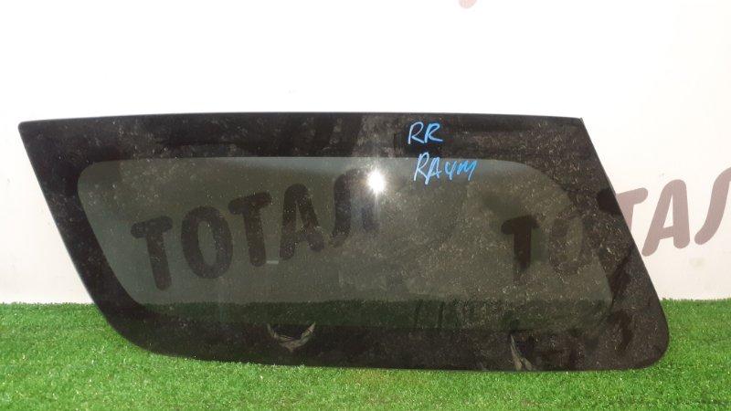 Стекло собачника Toyota Raum EXZ10 5EFE 2001 заднее правое (б/у)
