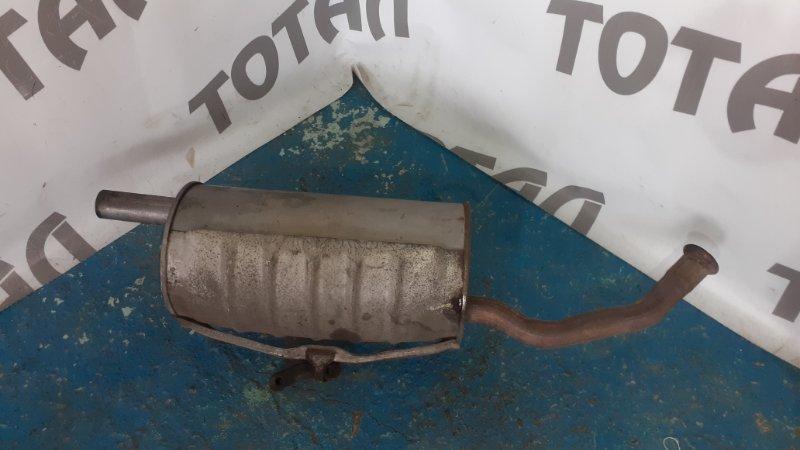 Бочка глушителя Toyota Raum EXZ10 5EFE 2001 (б/у)