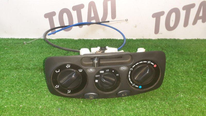 Блок управления климат-контролем Toyota Raum EXZ10 5EFE 2001 (б/у)