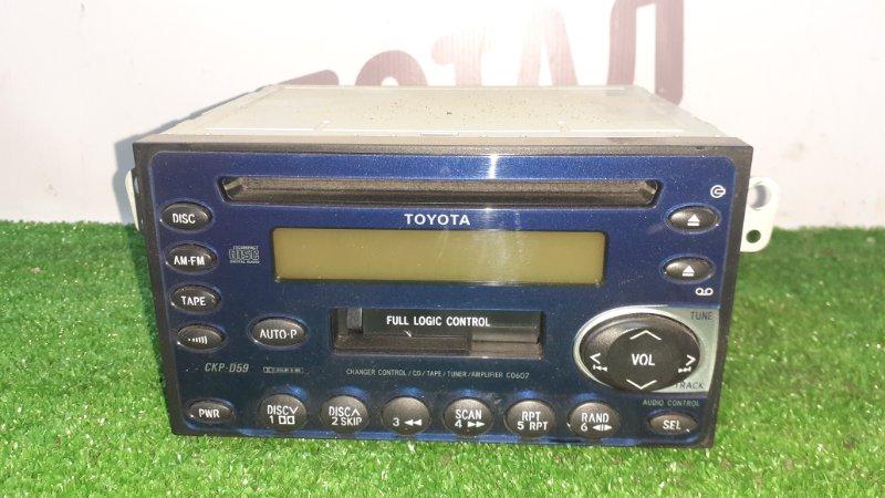 Магнитофон Toyota Raum EXZ10 5EFE 2001 (б/у)