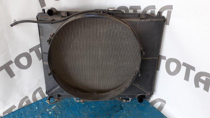 Радиатор двс Mitsubishi Pajero V75W 6G74 2001 (б/у)