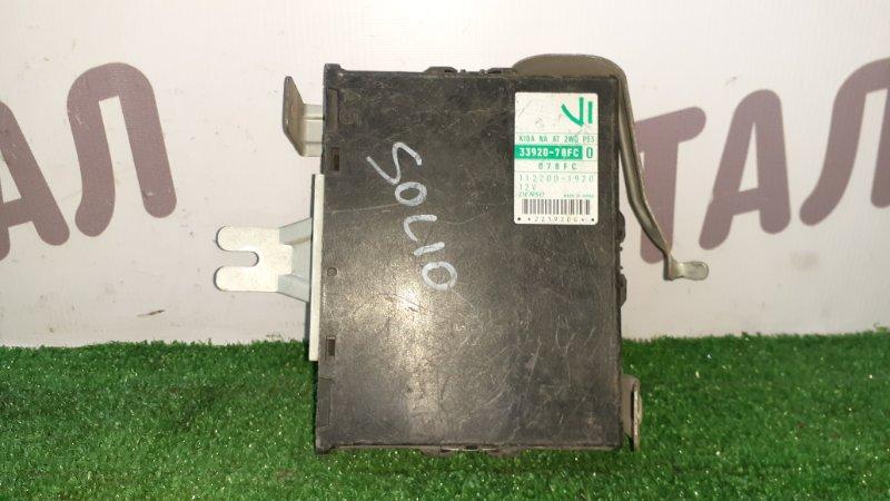 Блок управления двс Suzuki Wagon R Solio MA64S K10A (б/у)