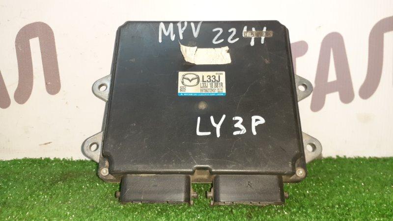 Блок управления двс Mazda Mpv LY3P L3VDT (б/у)