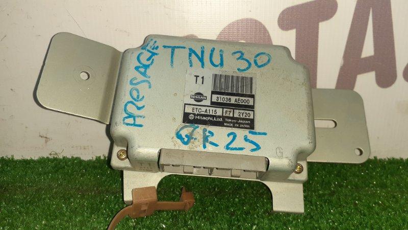 Блок управления акпп Nissan Presage TNU30 QR25DE (б/у)