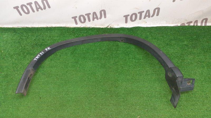 Дефендер крыла Nissan X-Trail TNT31 QR25DE 2009 задний правый (б/у)