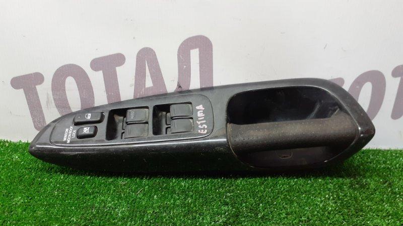 Блок упр. стеклоподьемниками Toyota Estima MCR40 1MZFE передний правый (б/у)