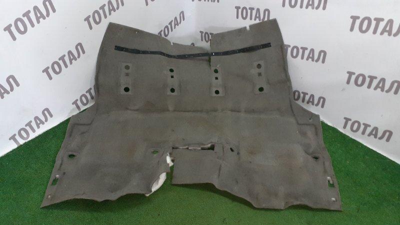 Обшивка пола Nissan Safari WTY61 ZD30DDTI 1999 задняя (б/у)