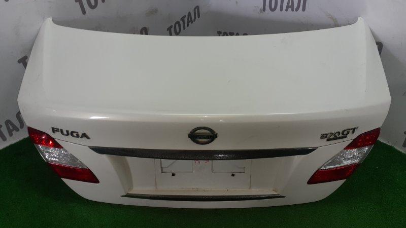 Крышка багажника Nissan Fuga KNY51 VQ37VHR 2013 (б/у)