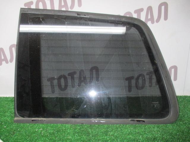 Стекло собачника Toyota Kluger MHU28 3MZFE 2005 переднее левое (б/у)