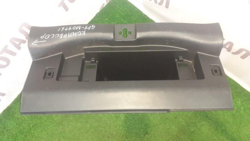 Планка под замок 5-й двери Honda Fit GP5 LEB 2015 (б/у)