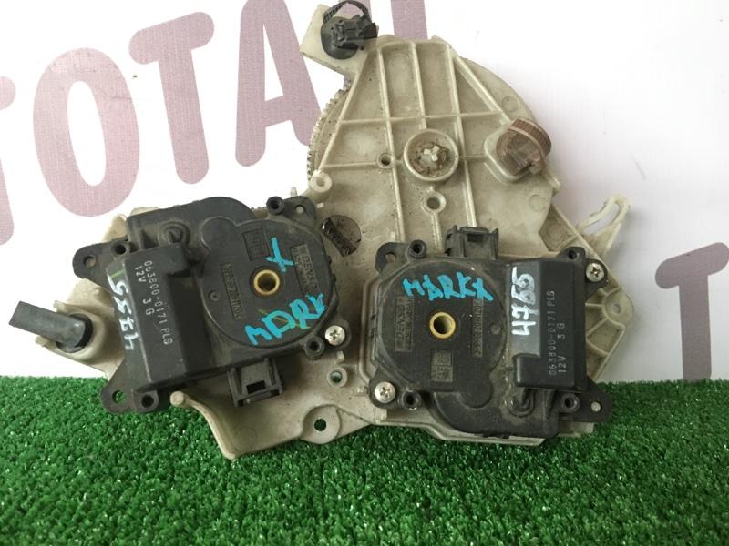 Сервопривод заслонок печки Toyota Mark X GRX125 4GRFSE (б/у)