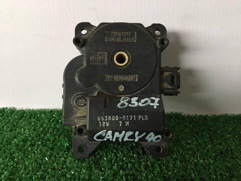 Сервопривод заслонок печки Toyota Camry ACV40 2AZFE (б/у)