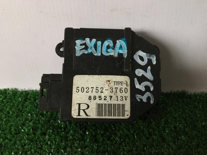 Сервопривод заслонок печки Subaru Exiga YA4 EJ20 (б/у)