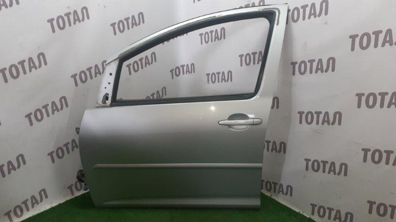 Дверь Toyota Wish ZNE14 1ZZFE 2004 передняя левая (б/у)