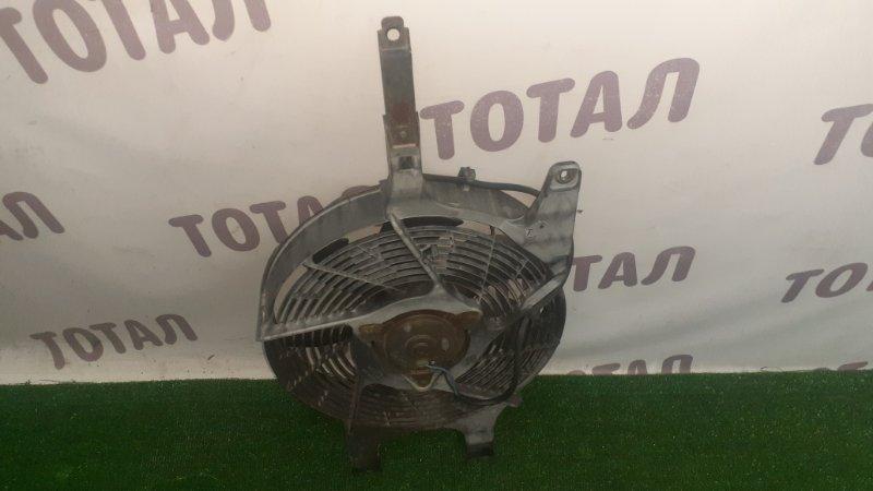 Вентилятор радиатора кондиционера Nissan Elgrand AVWE50 QD32ETI 1997 левый (б/у)