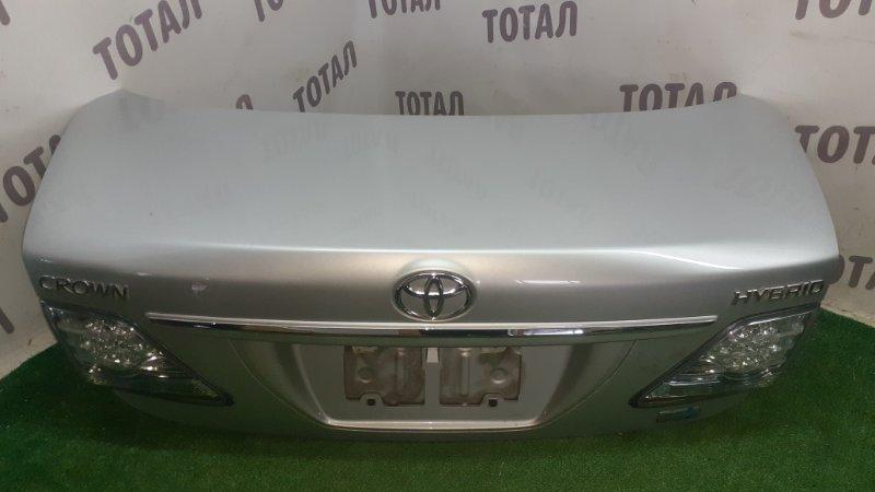 Крышка багажника Toyota Crown GWS204 2GRFSE 2008 (б/у)