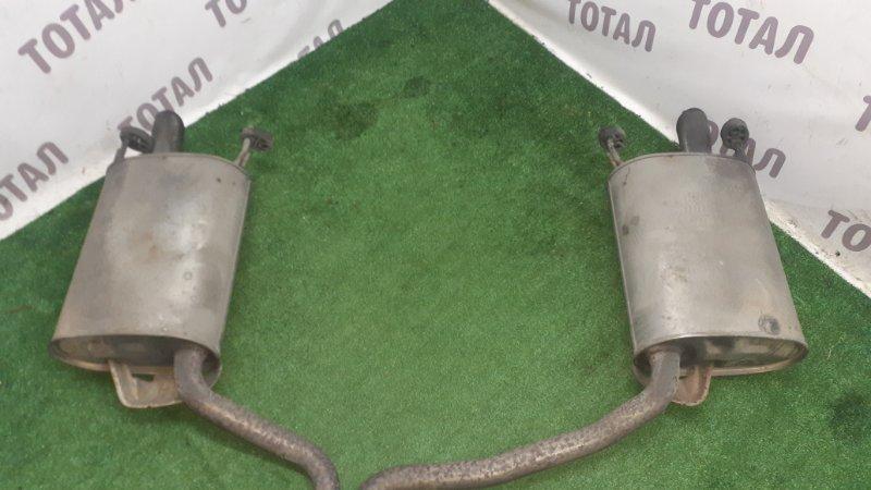 Бочка глушителя Toyota Crown GWS204 2GRFSE 2008 (б/у)