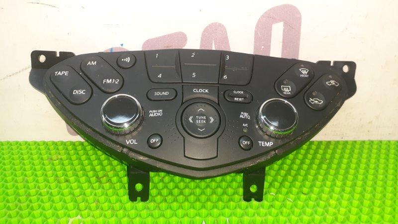 Блок управления климат-контролем Nissan Primera TP12 QR20DE 2005 (б/у)