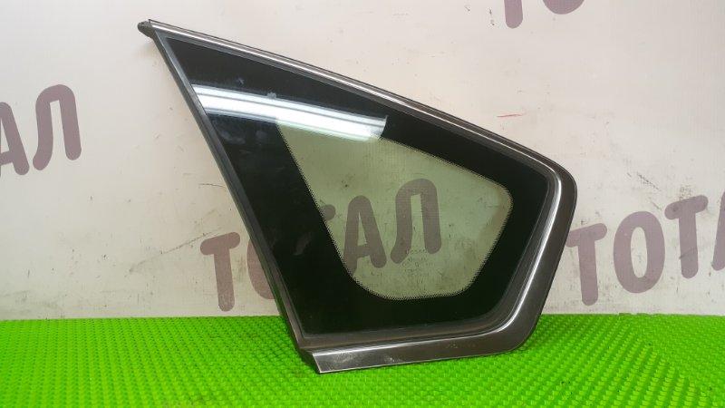 Форточка кузова Nissan Teana PJ31 VQ35DE 2004 задняя левая (б/у)
