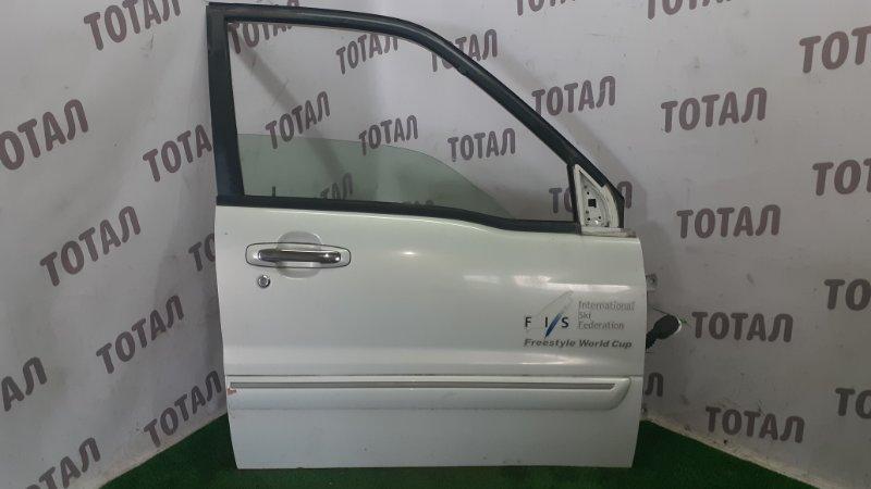 Дверь Suzuki Grand Escudo TX92W H27A 2003 передняя правая (б/у)