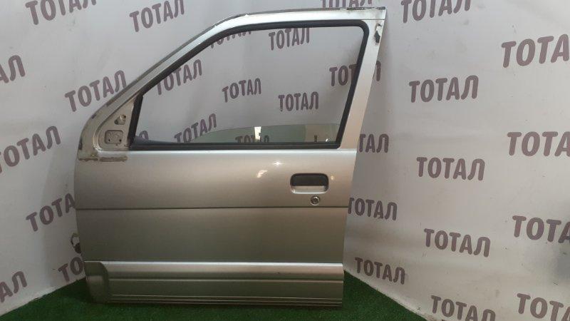 Дверь Toyota Cami J100E HC-EJ 2000 передняя левая (б/у)
