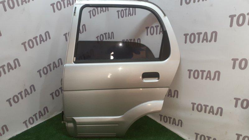 Дверь Toyota Cami J100E HC-EJ 2000 задняя левая (б/у)