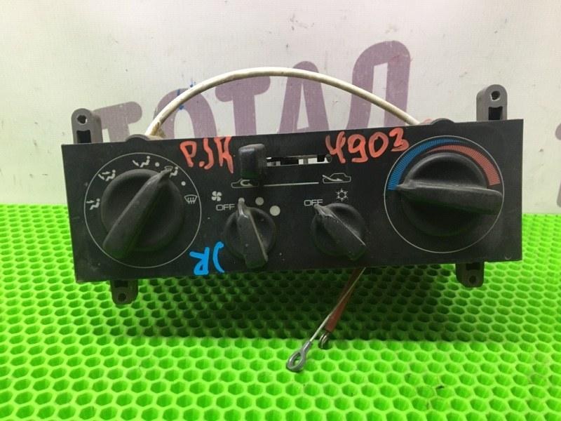 Блок управления климат-контролем Mitsubishi Pajero Junior H57A 4A31 (б/у)