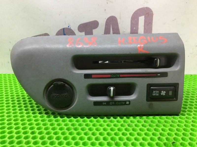 Блок управления климат-контролем Toyota Hiace Regius KCH46 1KZTE 1997 задний (б/у)