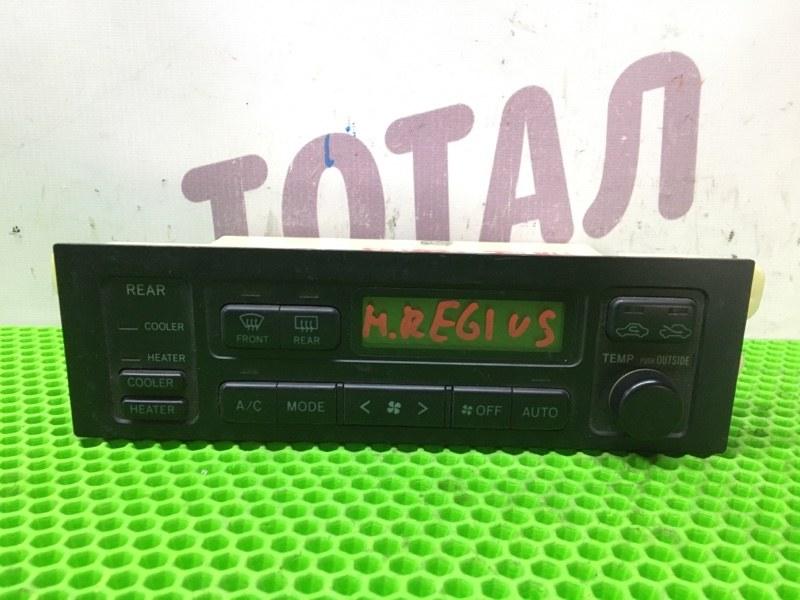 Блок управления климат-контролем Toyota Hiace Regius KCH46 1KZTE 1997 (б/у)