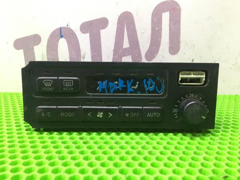 Блок управления климат-контролем Toyota Mark Ii JZX110 1JZ (б/у)