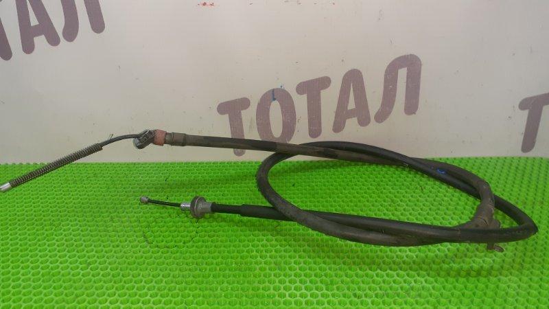 Трос ручника Nissan Tiida Latio SNC11 HR15DE 2007 левый (б/у)