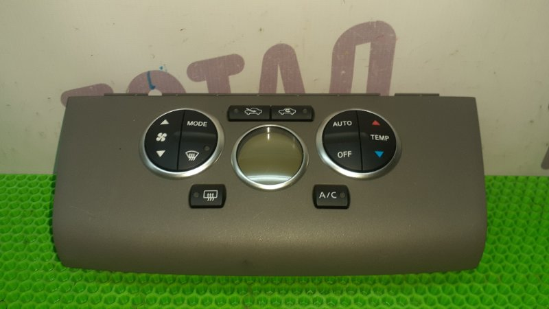 Блок управления климат-контролем Nissan Tiida Latio SC11 HR15DE 2007 (б/у)